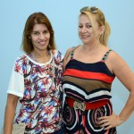 Gilza Suares, da Fabulous Trips, e Rute Garcia, da VF Turismo