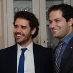 Jean-Bruno Gillot, da Cap Amazon, e Bruno Cordaro, da MSC Cruzeiros