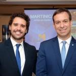 Jean-Bruno, da Cap Amazon, e Adrian Ursilli, da MSC Cruzeiros