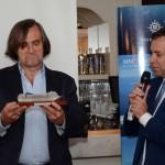 Jean-Philippe Pérol de AtoutFrance, e Adrian Ursilli, da MSC
