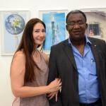 Laura Rodrigues, da Inspiring Adventures, e Olante Deodoro, da Cores Vivas Viagens e Turismo