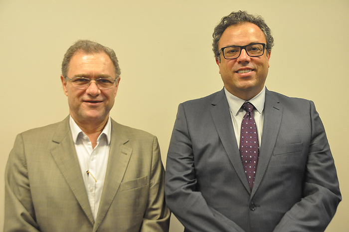 Luiz Daniel Guijarro e Francisco Calvo