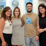 Mari Masgrau, do M&E, a jornalista Pâmela Rodrigues, Otavio Lima, da Pisa Trekking, e Milagros Ochoa, da Promperú
