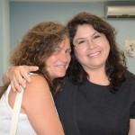 Mari Masgrau, do M&E, e Milagros Ochoa, Diretora do Escritório de Turismo do Peru no Brasil