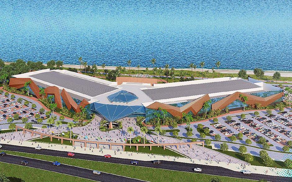 Perspectiva do novo Centro de Convenções de Salvador - Foto Divulgação