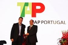 Tap recebe premiação em Londres por excelência de serviços