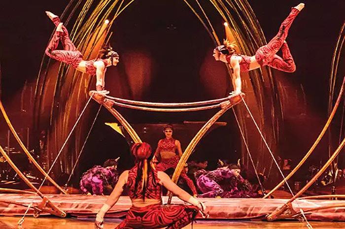 Amaluna do Cirque du Soleil (foto site Cirque du Soleil)