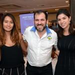 Sidney Martin, da Hometur, Wenna Guimarães e Fernanda Sarubbi, da Cap Amazon