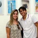 Simone Fontolan, da LDX Travel, e Igor Rodrigues dos Santos, da RDS Tur