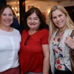 Suely Sarracini, da Oceanos Turismo, Lilian Saviani, da Weigand, Inês Sarro, da Eventos&Investimentos