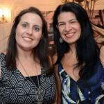 Tatiane Manzalli, da Trend, e Mara Alonso, da Queensberry