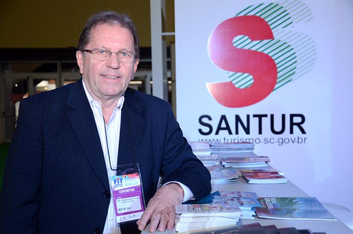 Valdir Walendowsky, presidente da Santur
