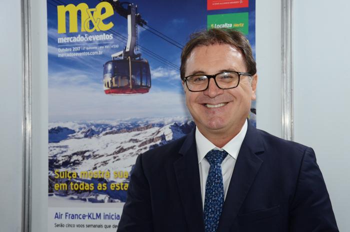 Vinicius Lummertzs, presidente da Embratur