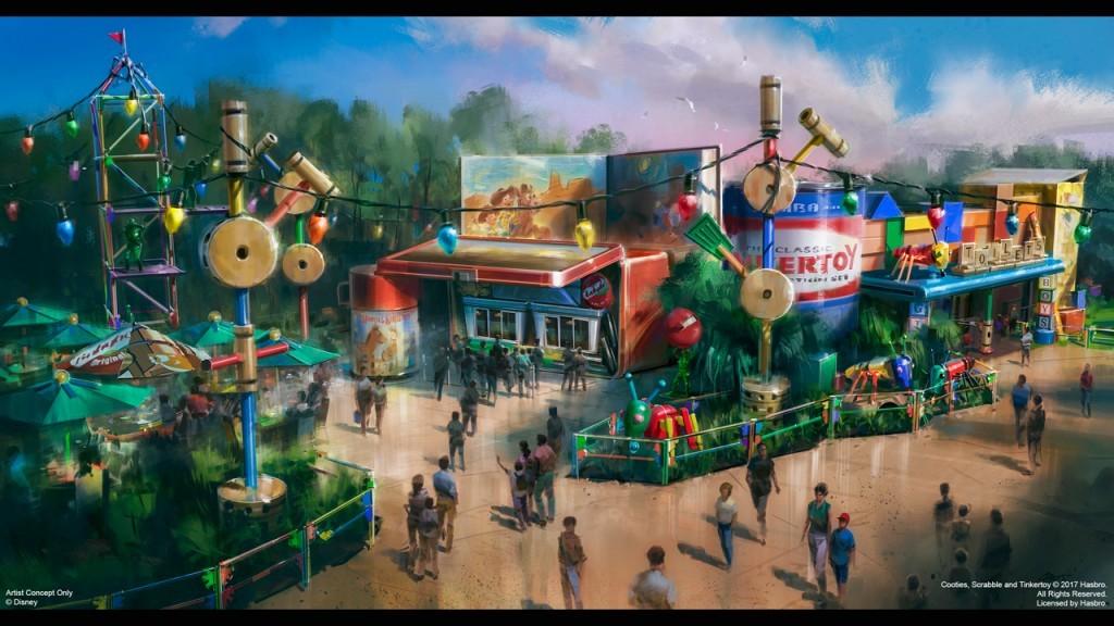 Woody's Lunch Box será o restaurante da Toy Story Land, no Hollywood Studios