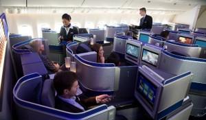"""United é eleita """"Companhia Aérea do Ano"""" por nova cabine executiva"""