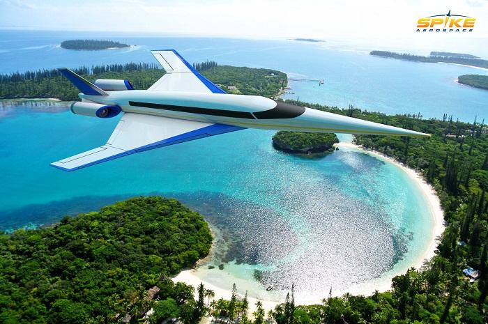 A versão final da aeronave de alta velocidade ainda está em desenvolvimento pela Spike