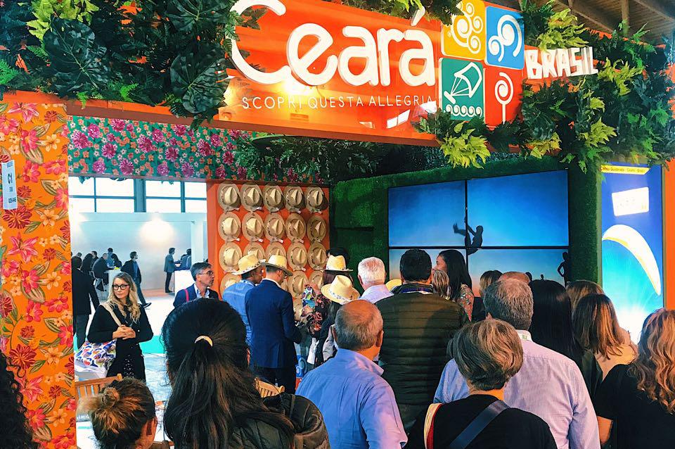 Estande do Ceará foi um dos mais movimentados do TTG Incontri