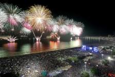 Rio prevê 2,7 milhões de turistas no Réveillon; impacto chega a R$ 2,2 bilhões
