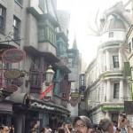 A área exclusiva do Harry Potter foi uma das mais visitadas