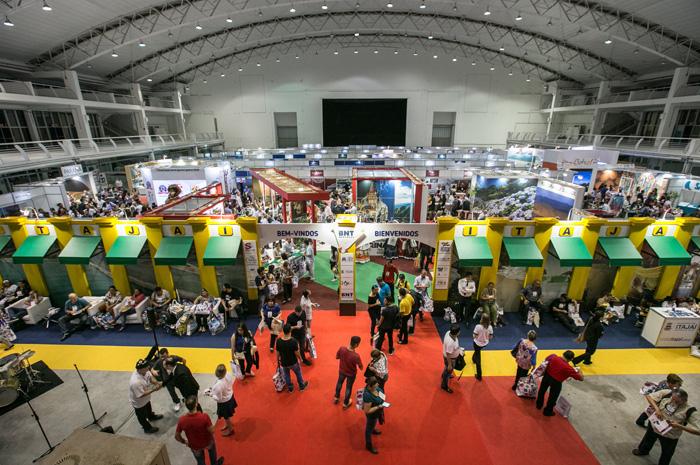 O evento reúne profissionais de turismo do Brasil, Uruguai, Argentina, Chile e Paraguai