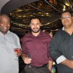 Anderson Silva, Henrique Soares e Rudney Costa, da MSC