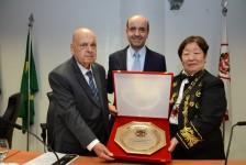 Academia Brasileira de Eventos e Turismo homenageia Armindo Dias; fotos