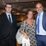 Bernardo Ignarra e Mari Masgrau, do M&E, e Alejandro Lavin, da Special Tours