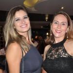 Carla Proença, da Guiamondi Viagens e Silmara André, da Flytour