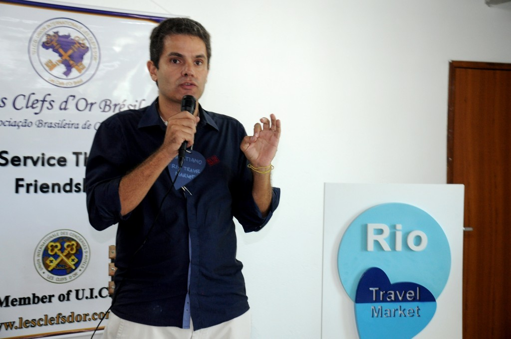 Cristiano Nogueira é o instrutor do curso