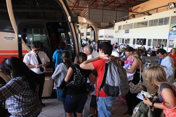 Fluxo de passageiros foi maior entre 29 de dezembro e 1 de janeiro