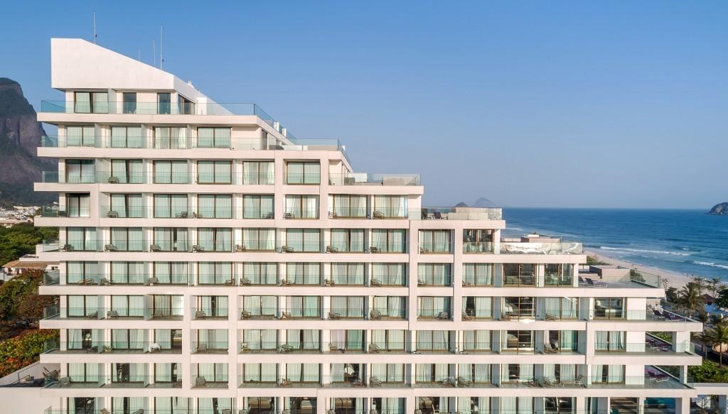 Fachada do LSH Barra Hotel (Divulgação LSH)