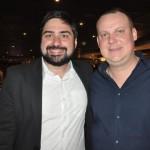 Felipe Campos, da MSC, e Gustavo Barbosa, da CVC