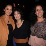 Flávia Salles, Suzana Lassance e Gracy Oliveira, da Carioca Eventos & Viagens