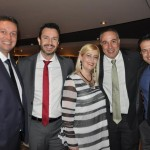 Flávio Lambstain, Eduardo Mariani, Adriana Barbosa, Roberto Affonseca, e Bruno Cordaro, da MSC