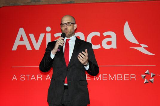 Frederico Pedreira, presidente da Avianca