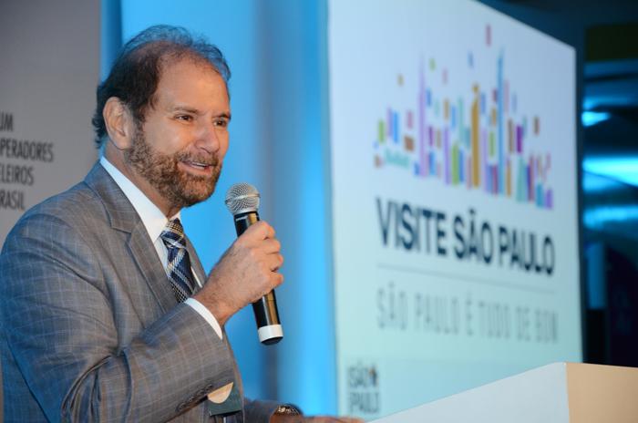 Guilherme Paulus foi reconhecido pela revista pelas ações realizadas ao longo do ano para fomentar o turismo no Brasil (Foto: Eric Ribeiro)