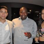 Ivan Melo, Anderson Silva e Bruna Abreu, da MSC