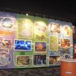Já outro lado mostra os quatro parques da Disney