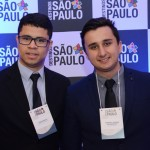 Junior Matos e Rodrigo Alencar, do Meliã Hotels