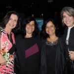 Karla Haimenis, da AIT, Marcia Galvão, da NCL, Monica Galvão, da Hotelbeds, e Olga Vianna, da Selection Travel
