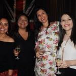 Lourdes Silva, da Oceanside, Daniela Pinheiro e Joseane Seabra, da Multidestinos, e Ana Paula Pereira, da Home Travel