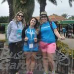 Luciana Karlguth, Bruna Buhatem e Juliana Sanches, representaram a SuncoastUSA