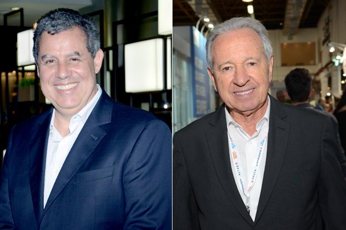 Luiz Eduardo Falco e Afonso Louro