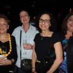 Maia Marine e Heloisa Macedo, da Hallmark Turismo, Rosane Balassiano, da Total Cruzeiros, e Samira Beze, da High Season