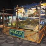 Maquete de Pandora, atração do Animal Kingdom