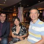 Marcio Benegatti, da Latan, Cristina Onuki, da Agaxtur, e Ricardo Shimosaki, do Turismo Acessível