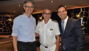 MSC treina 300 agentes a bordo do Preziosa; confira as fotos