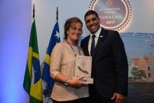 Curaçao premia parceiros do Brasil em São Paulo; veja fotos