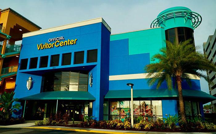 Prédio do novo Orlando's Visitor Center, localizado na Internacional Drive - Foto: divulgação