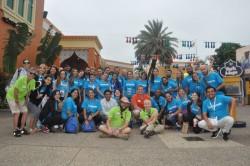 Mega Fam do Visit Orlando visita parques de Universal e SeaWorld; veja fotos